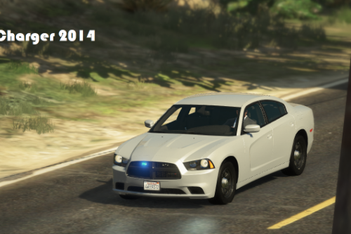 Unmarked Dodge Charger 2014 [Add-On | ELS]