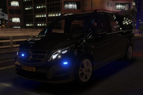 Unmarked Mercedes V250 2016 - Nederlandse Politie [ DUTCH / NL ]