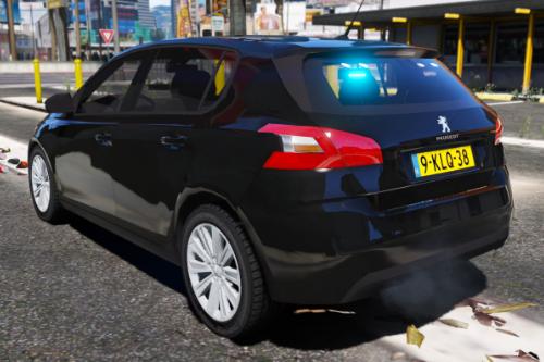 Unmarked Peugeot 308 2018 - Nederlandse Politie [ELS] [ DUTCH / NL ]