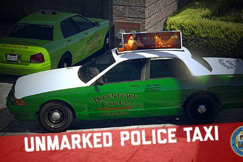 Unmarked Police Taxi [Add-On | Extras]