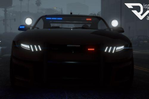 Unmarked Vapid Dominator GTX (Detective) [Add-On] [Custom Soundbank]