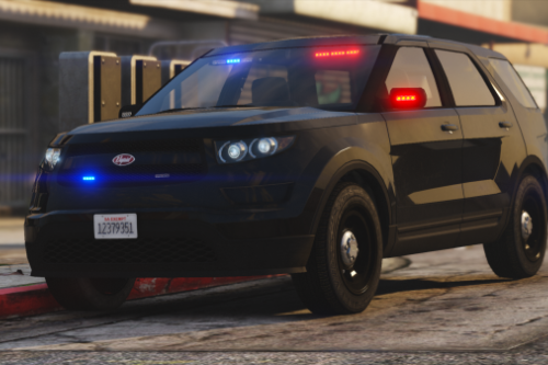 Unmarked Vapid Police Cruiser Utility (Scout) [Add-on] [Custom Soundbank]
