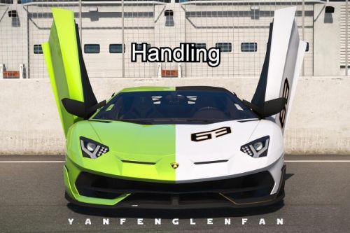 Handling for yanfenglenfan's Lamborghini Aventador SVJ