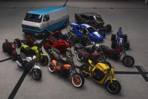 Updated Spawn Colors For Bikers Vehicles
