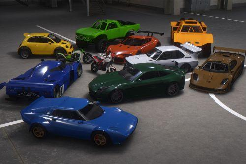 Updated Spawn Colors For Cunning Stunts Vehicles