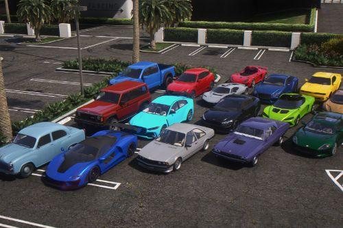 Updated Spawn Colors For Diamond Casino & Resort Vehicles