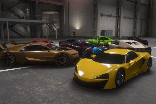 Updated Spawn Colors For Import/Export Vehicles