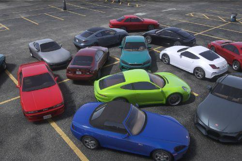Updated Spawn Colors For Los Santos Tuners Vehicles