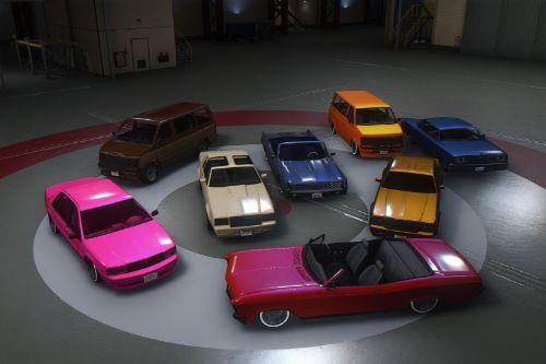 Updated Spawn Colors For Lowriders Vehicles