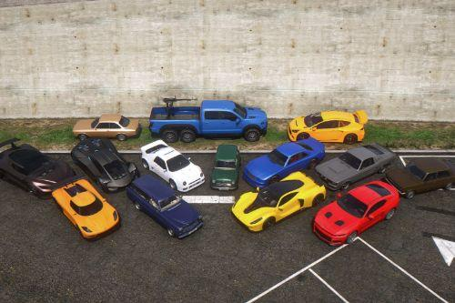 Updated Spawn Colors For Southern San Andreas Super Sports Series Vehicles