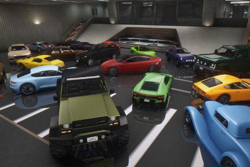 Updated Spawn Colors For The Doomsday Heist Vehicles