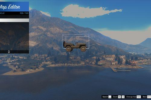 Updated Vehicle List For Map Editor