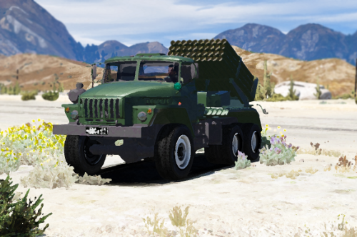 Ural 375 MLRS Grad [Add-on]