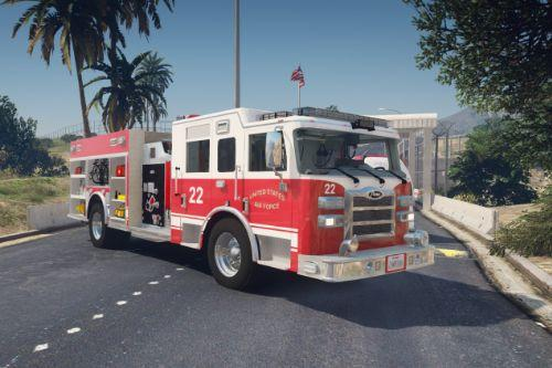 US Air Force Fire Protection Pierce Enforcer