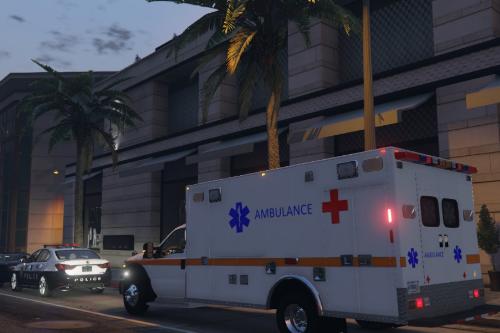 US Air Force Ford F350 / F450 Ambulance
