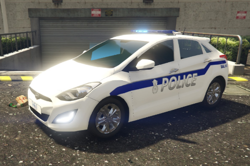 US Air Force Security Forces HYUNDAI i30