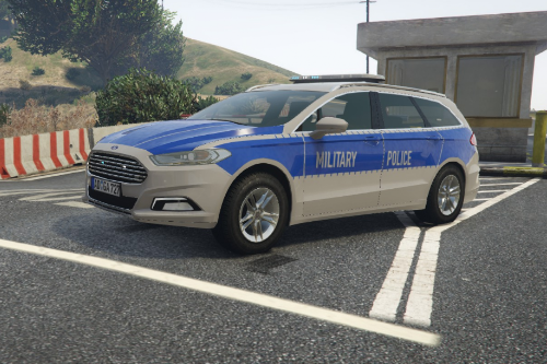US Army Military Police MONDEO