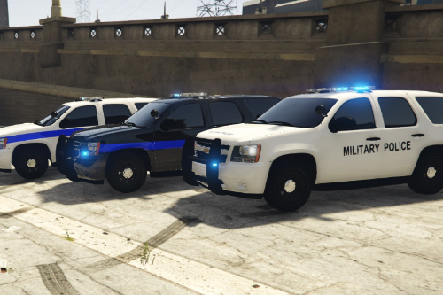 US Army Military Police TAHOE