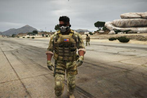 U.S. army OCP Outfits for protagonists