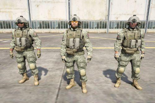 US Army Outfits for Protagonists