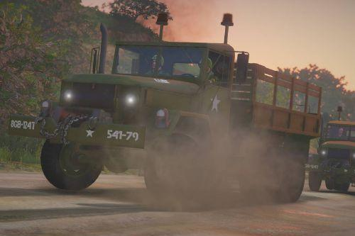 US Army skin for M35A2