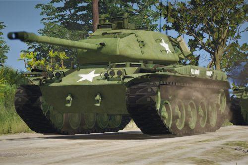 US Army skin for M41 Walker Bulldog