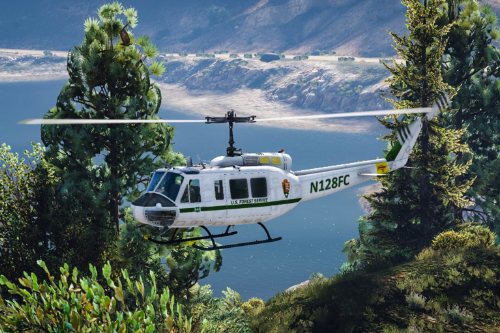 US Forest Service UH-1H [Add-On]