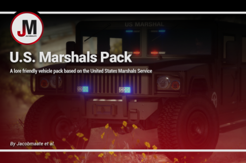 U.S. Marshals Service (USMS) Pack [Add-On | Lore Friendly | Soundbank | Template]