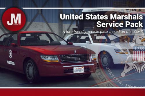 U.S. Marshals Service (USMS) Pack [Add-On | Lore Friendly | Soundbank | FiveM-Ready]