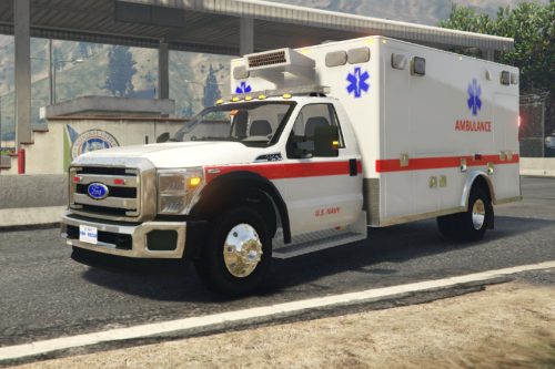 US Navy Ambulance (White/Olive)