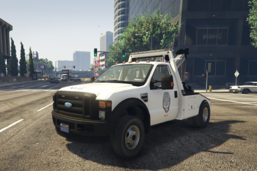 US Navy Security Forces F550 TOW TRUCK