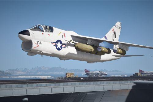 US Navy Livery for A-7D Corsair II