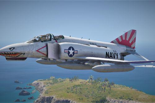 US Navy skin for F-4 Phantom II