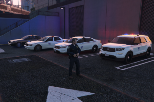 US Post Police Pack [EUP | Vehicles]