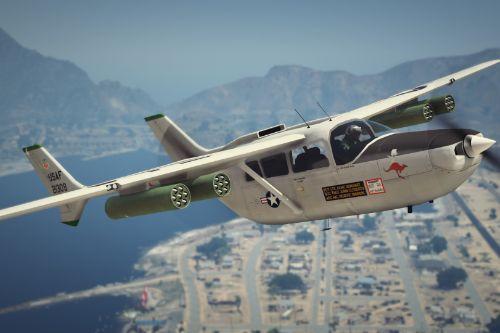 USAF [Armed] 337 / O-2 Cessna Skymaster [Add-On]