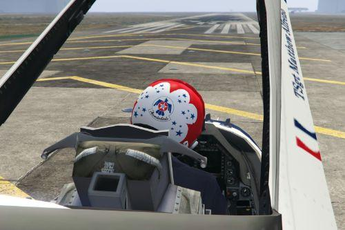 USAF Thunderbird Pilot Suit and Helmet for Michael [Texture & Helmet Model]