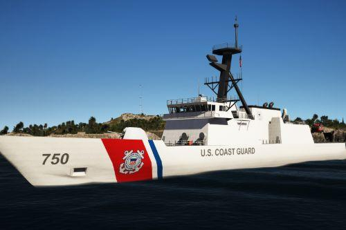 USCG Legend-Class Cutter Bertholf [Working Guns]