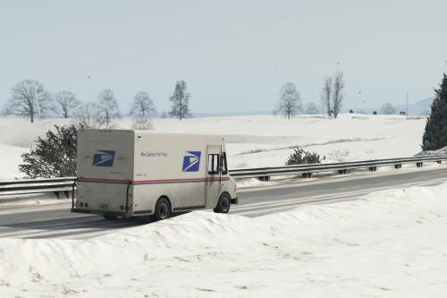 USPS United States Postal Service Truck (Skin)