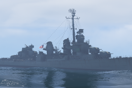 USS Fletcher [Add-on]