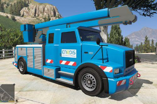 Utillitruck French enedis