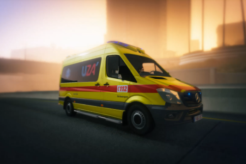 UZA Ambulance (Belgian Ambulance)