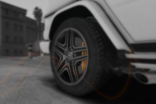 VadimS  G65 AMG Carbon Ceramik (Yellow)  Brakes