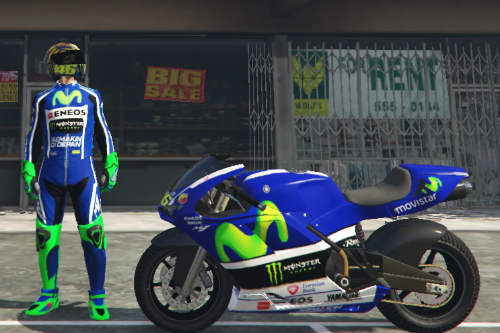 Valentino Rossi Skin for MP Freemode Male