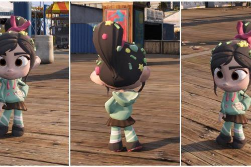 Vanellope Detonate Ralph (add-on / replace)