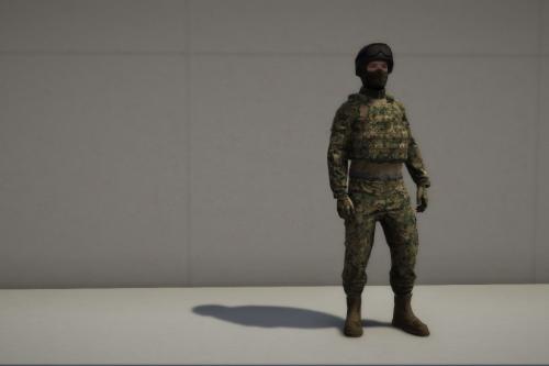 Vanilla Fuerzas Armadas de Mexico Ped [ Swat Replace ]
