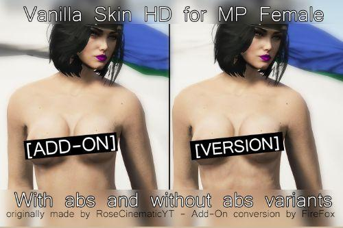 Vanilla Skin HD for MP Female [+18] Add-On