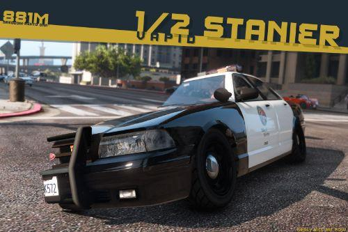 Vapid 1/2 Stanier Police Cruiser [Add-On | Sounds]