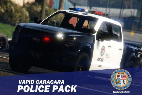 Vapid Caracara Police Pack [Add-On | Sounds]