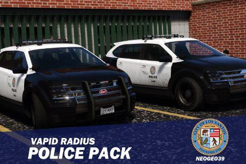 Vapid Radius Police Pack [Add-On]