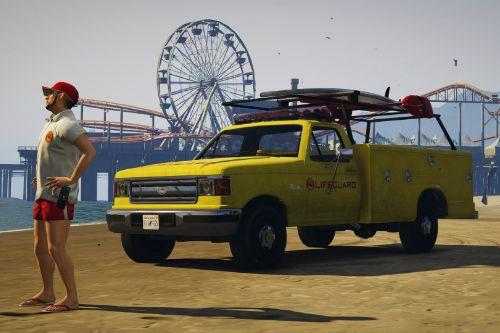 Vapid Retro Sadler Lifeguard [Add-On]